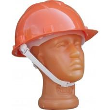 Каска защитная для строительно-монтажных работ с текс. оголовьем